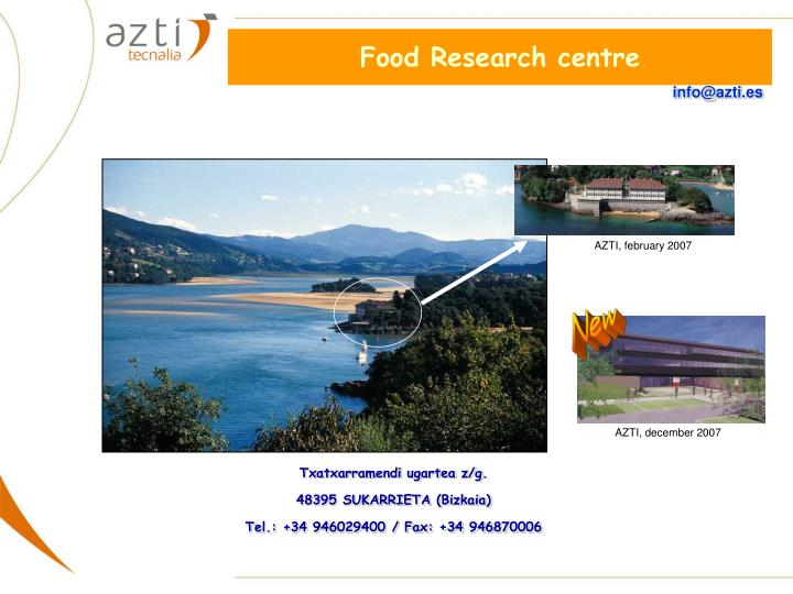Food Research centre