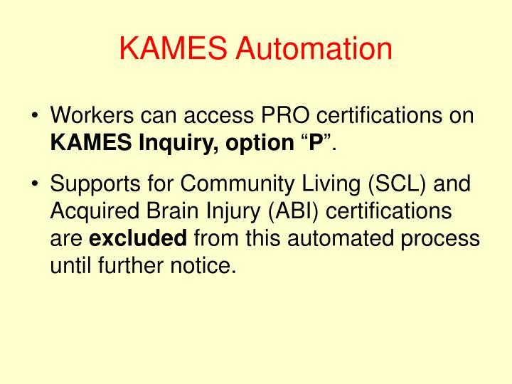 KAMES Automation