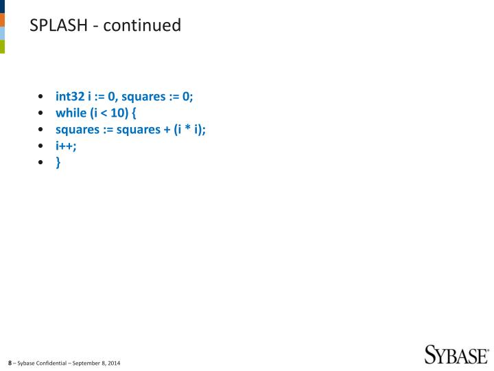 int32 i := 0, squares := 0;