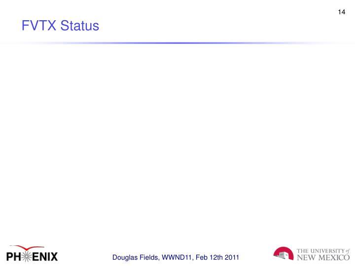 FVTX Status