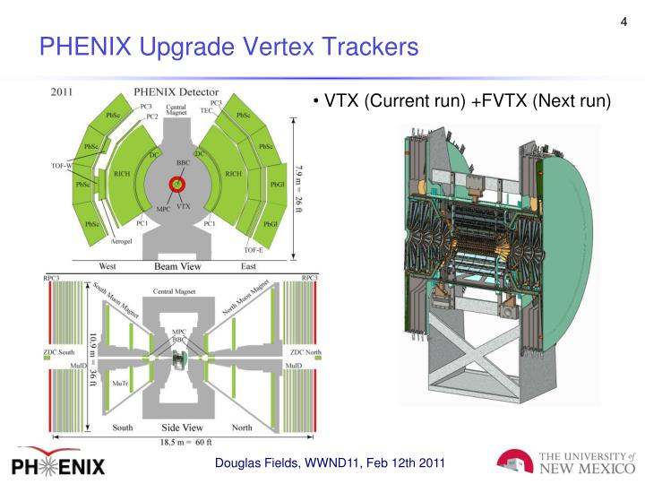PHENIX Upgrade Vertex Trackers