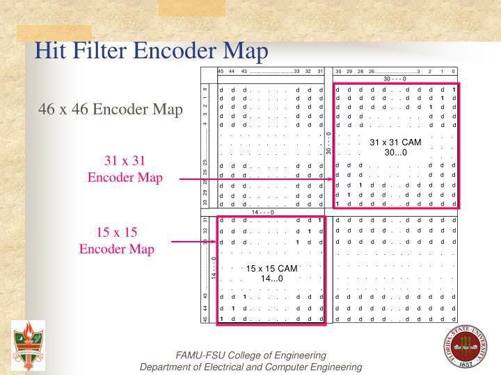 31 x 31                Encoder Map