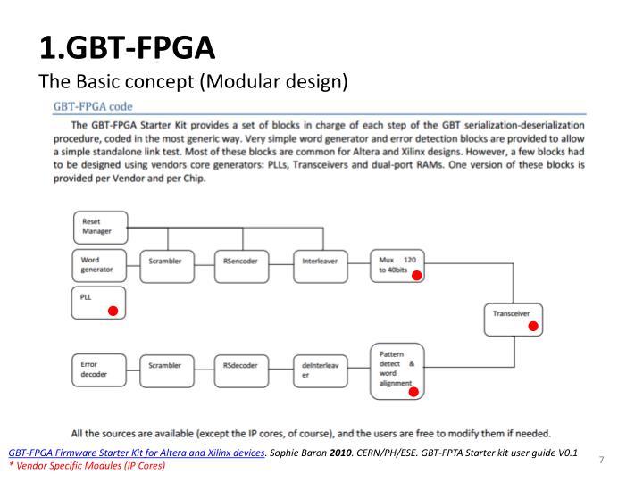 1.GBT-FPGA