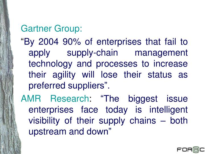 Gartner Group: