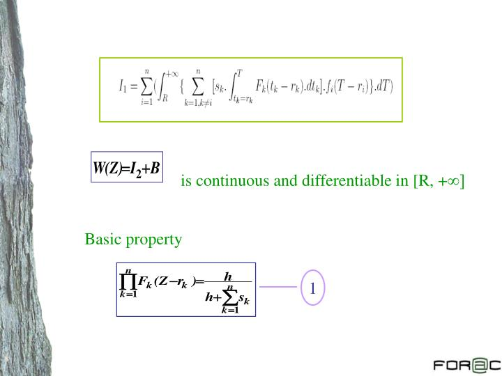 is continuous and differentiable in [R, +