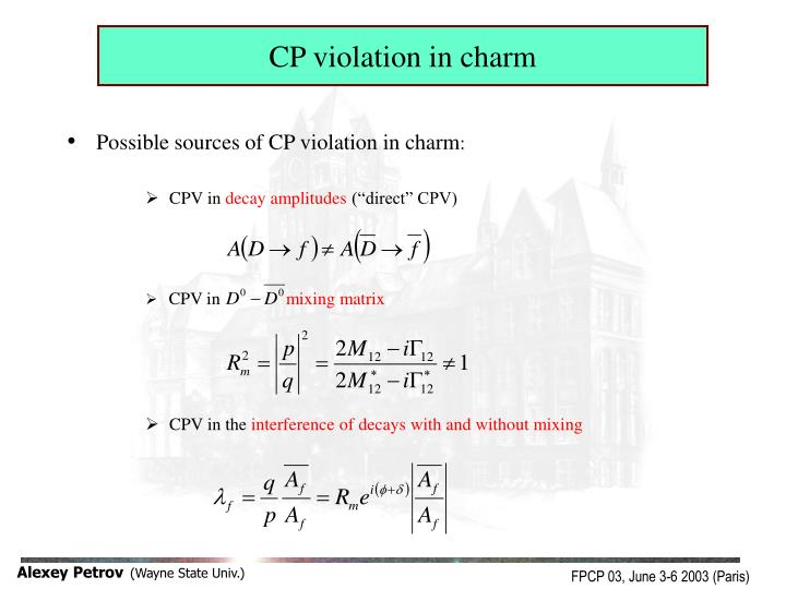 CP violation in charm
