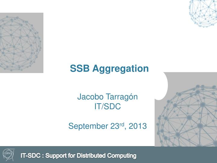 Ssb aggregation