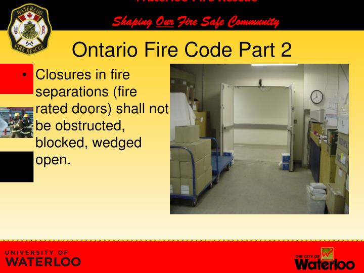 Ontario Building Code Fire Rated Doors