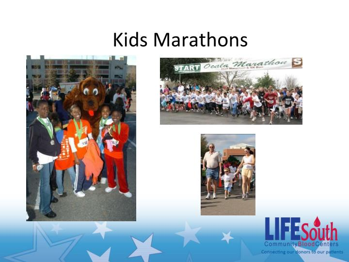 Kids Marathons
