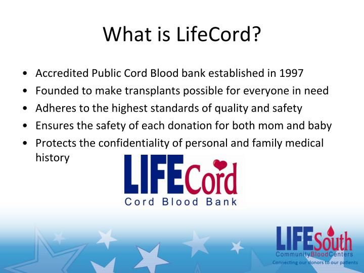 What is LifeCord?