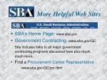 more helpful web sites