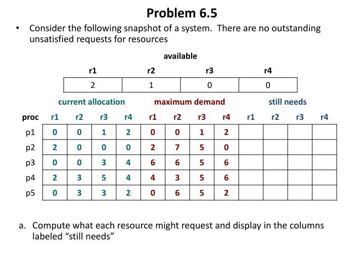 Problem 6.5
