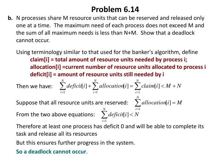 Problem 6.14