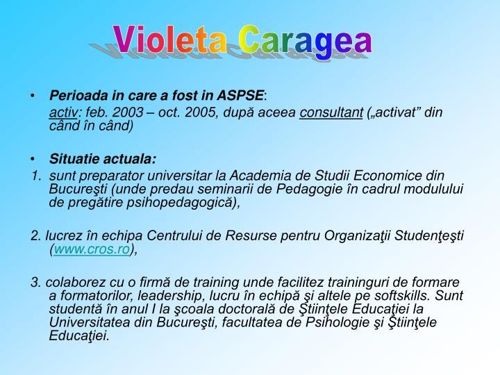 Violeta Caragea