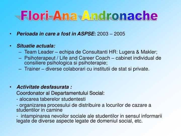 Flori-Ana Andronache