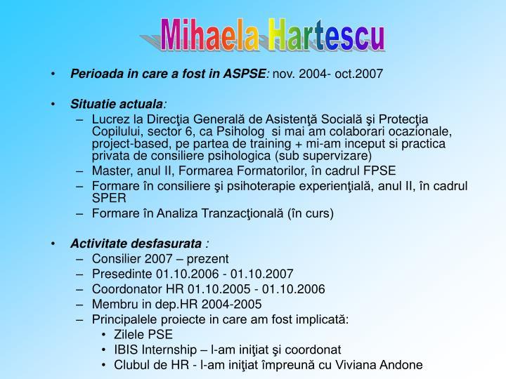 Mihaela Hartescu