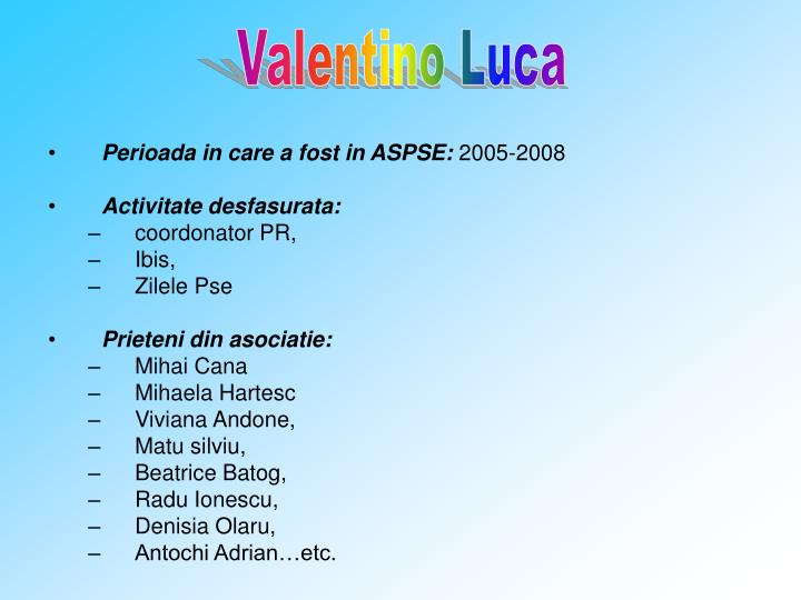 Valentino Luca