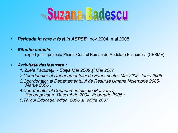 Suzana Badescu