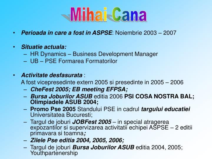 Mihai Cana