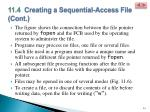 11 4 creating a sequential access file cont10