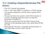 11 4 creating a sequential access file cont2