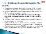 11 4 creating a sequential access file cont5