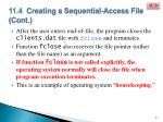 11 4 creating a sequential access file cont8