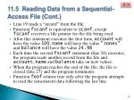11 5 reading data from a sequential access file cont