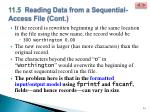 11 5 reading data from a sequential access file cont6
