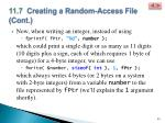 11 7 creating a random access file cont