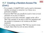 11 7 creating a random access file cont6