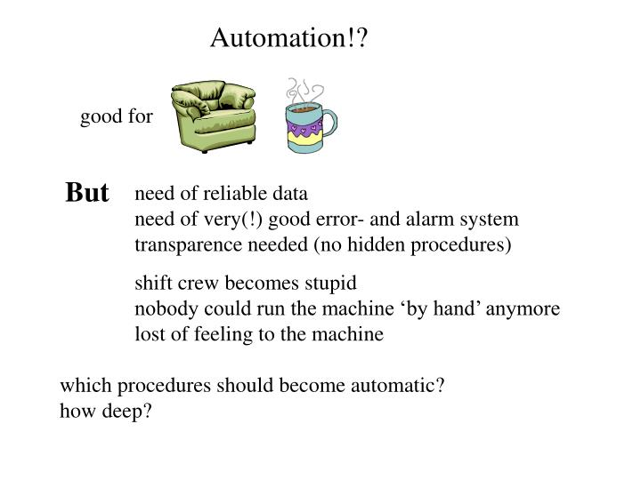 Automation!?