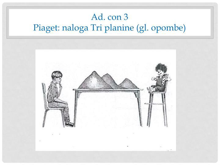 Ad. con 3