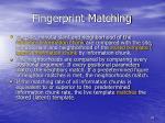 fingerprint matching2