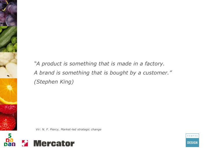 """A product is something that is made in a factory."