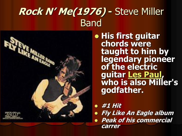 His first guitar chords were taught to him by legendary pioneer of the electric guitar
