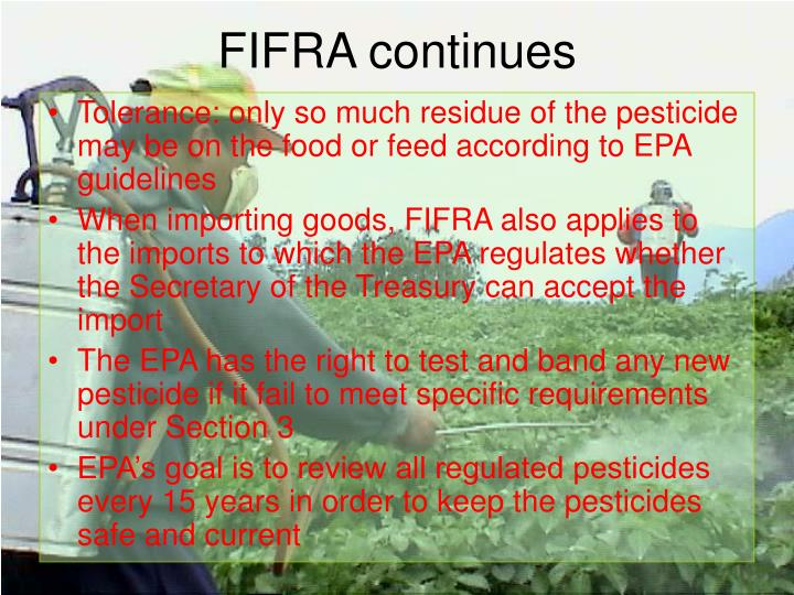 FIFRA continues