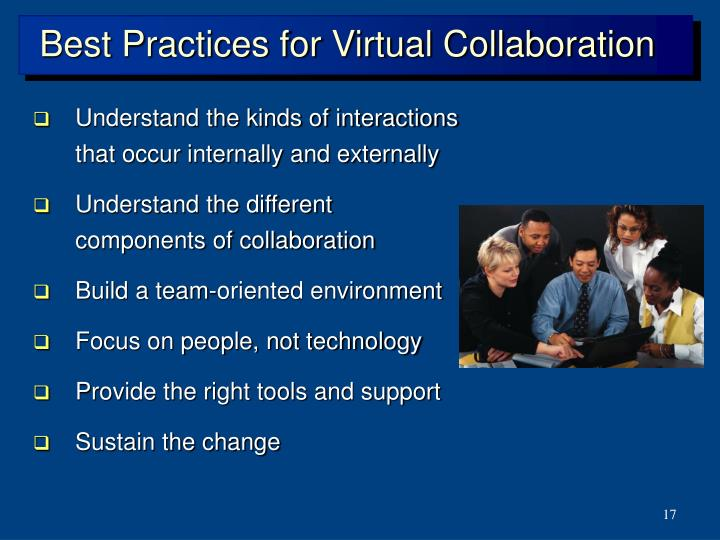 Best Practices for Virtual Collaboration