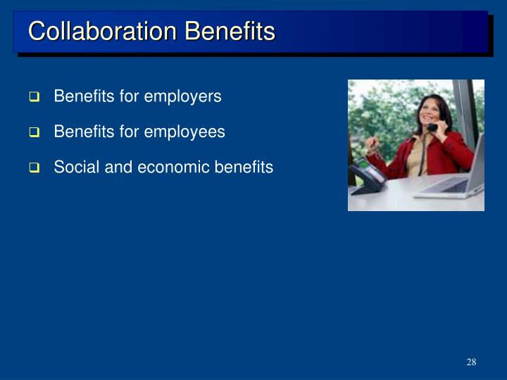 Collaboration Benefits