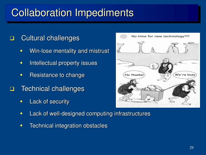 Collaboration Impediments