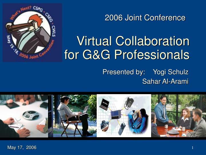 virtual collaboration for g g professionals