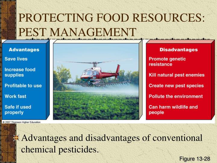PROTECTING FOOD RESOURCES: PEST MANAGEMENT