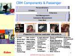 crm components passenger