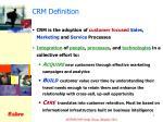 crm definition