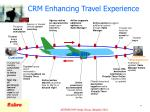 crm enhancing travel experience
