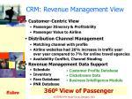 crm revenue management view