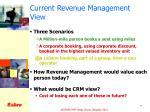 current revenue management view1