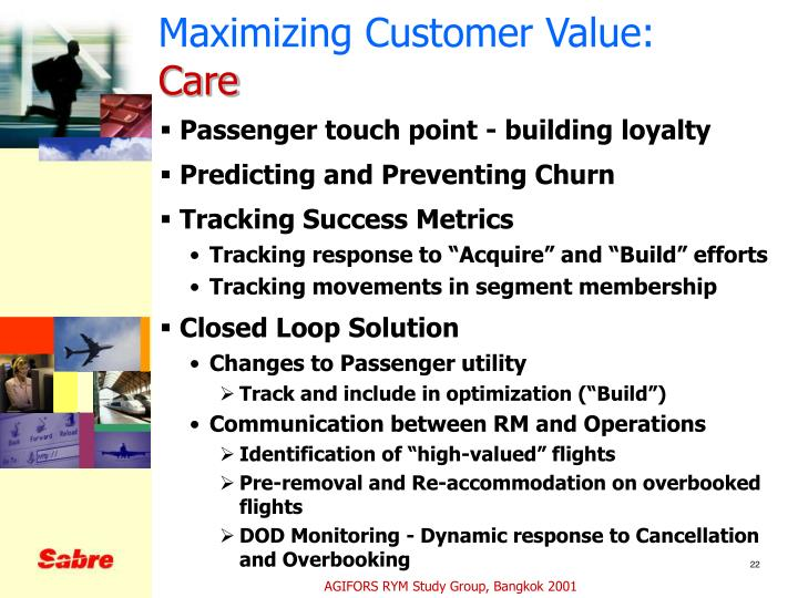 Maximizing Customer Value: