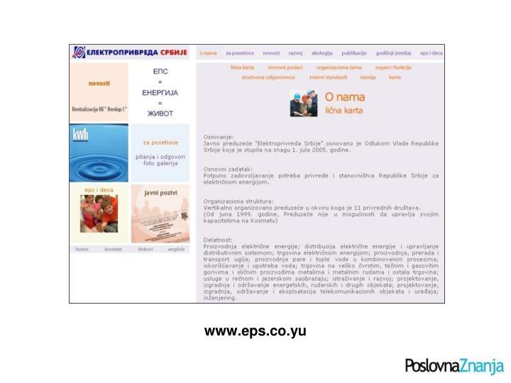 www.eps.co.yu