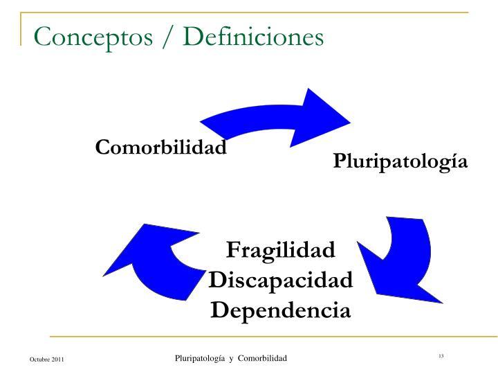 Conceptos / Definiciones